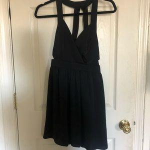 BCBG Generation Black, Caged Back dress